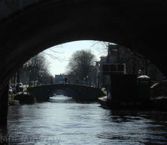 Amsterdam 7bridges over gracht