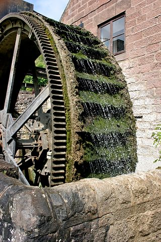 A waterwheel