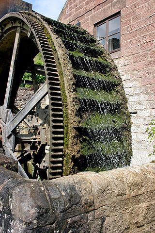 A waterwheel