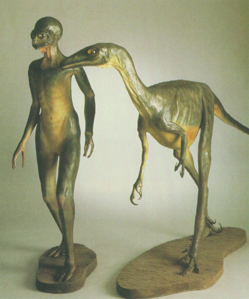 Dinoman, by Dale Russell, Canadian Museum of Nature