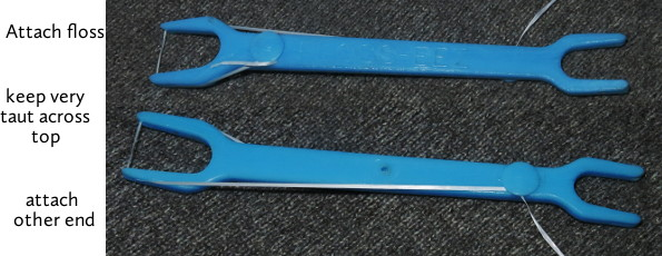 floss handle