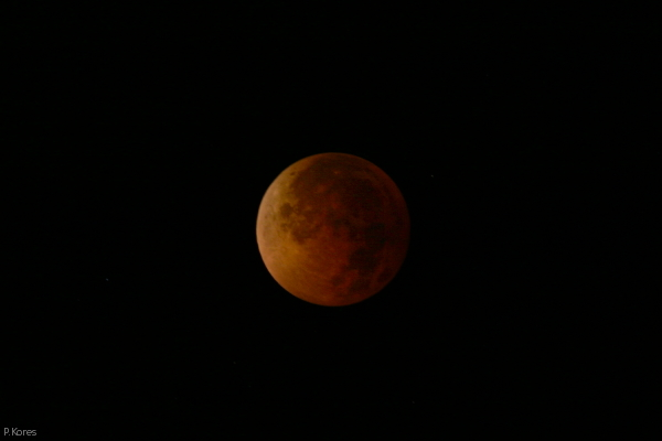 lunar eclipse, Aug. 28, 2007, totality