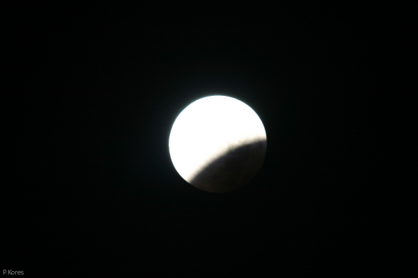 lunar eclipse, Aug. 28, 2007, earth