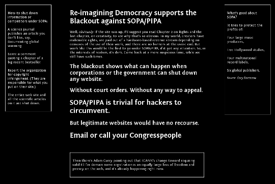 Reimagining Democracy dark