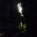 light-under-bridge-and-dripping-rocks-Natural-Bridge-Mangapohue-2013-06-21-IMG 1728