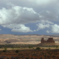 Arches cloudscape Utah