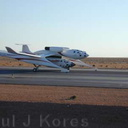 SpaceShipOne White Knight taxiing 21vi04